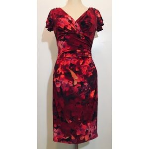 Lauren Ralph Lauren Faux Wrap Dress Sz. 6